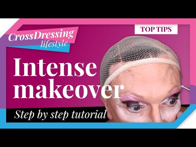 Makeover step by step   Crossdressing Lifestyle