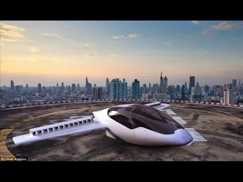Lilium: The World's First Electric Vertical Take Off And Landing Jet