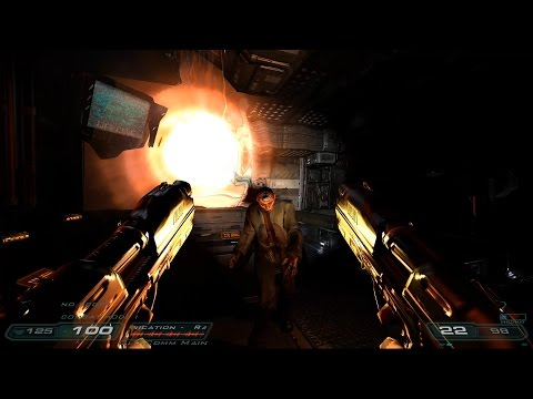 Mod Showcase - Perfected Doom 3 Dual Wielding!? Live Stream - Part 1