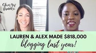 Lauren & Alex Built A Six Figure Blog That Made $818,000 Last Year! | Make Money Blogging