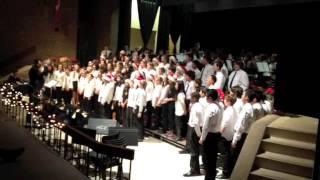Four White Horses (conductor: Yashar Nazarian JGA Concert Choir)
