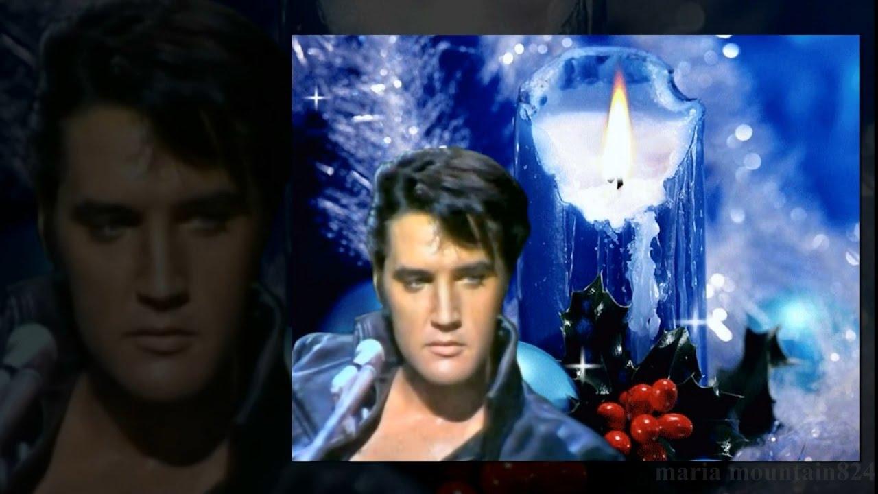 Elvis Presley - Blue Christmas CC  - YouTube