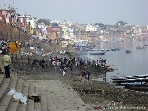 Exploring Varanasi in India - The Ghats, River, Streets and Markets