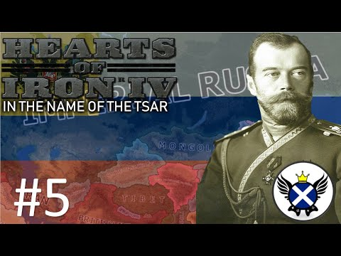 HOI4 In The Name Of The Tsar Imperial Russia EP5 - Striking At The Allies