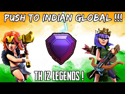 LIVE ATTACK PUSHING (TH 12)  IN CLASH OF CLANS