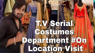 How Costume Team Works On Set For  Movies & TV Shows....