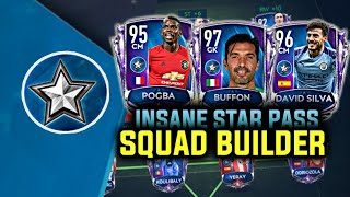 FULL EPIC STAR PASS SQUAD BUILDER! FIFA MOBILE 20