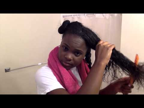 Wash Day Routine For Long Natural Hair: Clarifying with Apple Cider Vinegar
