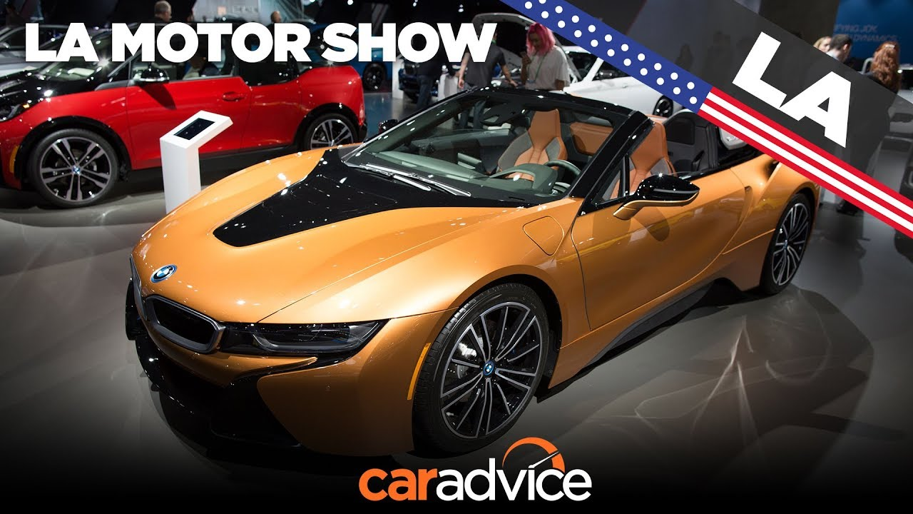 2018 BMW i8 Roadster walkaround | 2017 Los Angeles motor show - Dauer: 44 Sekunden