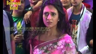On Location of TV Serial 'Yeh Hai Mohabattein' Ishita is trapped in the party Part 2