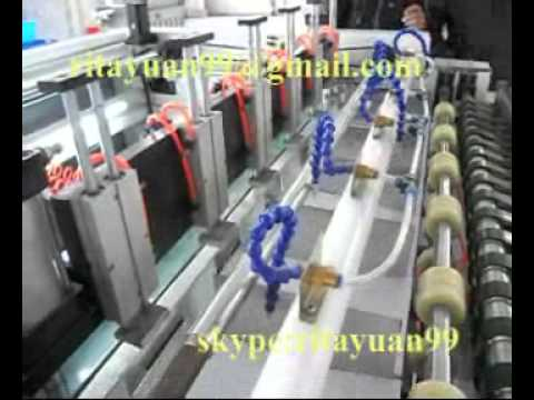 Papercraft A4 Four Rolls Feeding Paper Cutting Machine