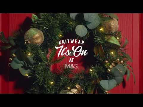 M&S | Knitwear. It's On.