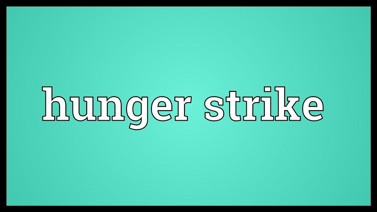 Hunger strike Meaning