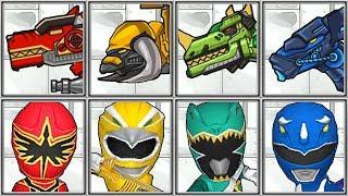 Power Ranger Dash + Dino Robot Corps - Full Game Play 1080 HD