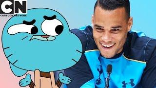 Are Professional Footballers Like Gumball? | Cartoon Network