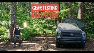 Testing Overland Car Camping Gear - Road Trip Adventure - Leavenworth Washington