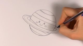 R.E.A.P: How to Draw a Cartoon Planet Saturn