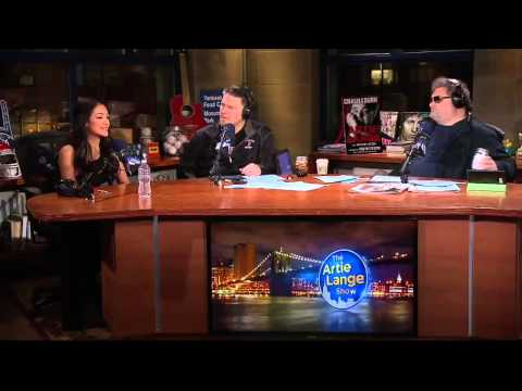 The Artie Lange Show - Melanie Iglesias (in-studio) Part 1