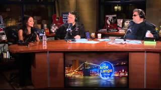 The Artie Lange Show - Melanie Iglesias (in-studio) Part 1