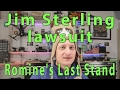 Romine's Last Stand - Digital Homicide v. Jim Sterling lawsuit