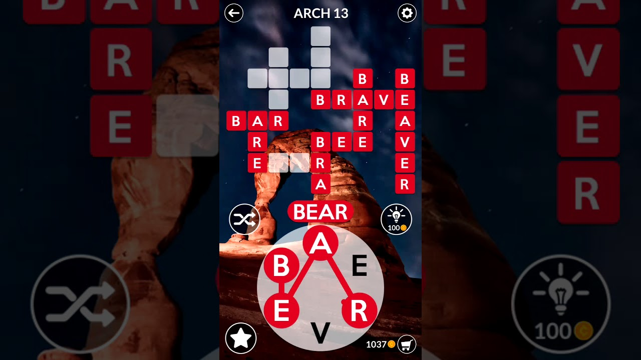 View Wordscapes 125 Answers PNG