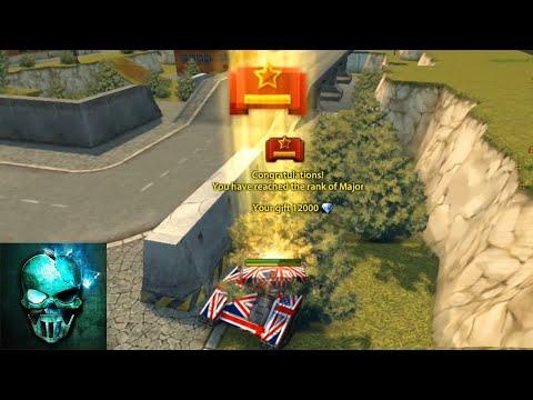 Recruit to Major! (Road to Legend #4) - Tanki Online -  Ghost Animator TO