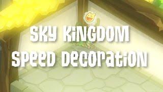 Speed Den Decorating!!! | Sky Kingdom