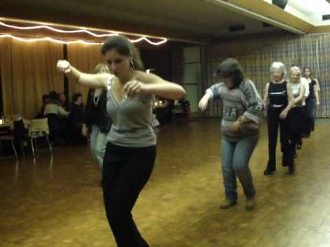 Hands to Yourself line dance (an all time classic!) - Geneva social evening J&L