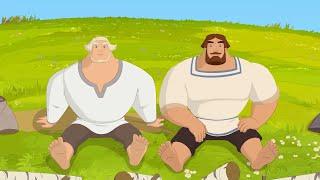Три богатыря и наследница престола Как на рыбалку ходить надо Короткое видео