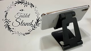 Foldable Aluminum Tablet Phone Stand by Nulaxy Review