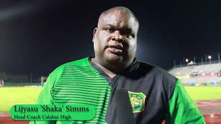Interview with Calabar Coach