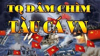 Tin Biển Đông Mới Nhất: Tàu Hải Cảnh Trung Quốc ĐÂM CHÌM Tàu Cá Việt Nam Trên Quần Đảo Hoàng Sa