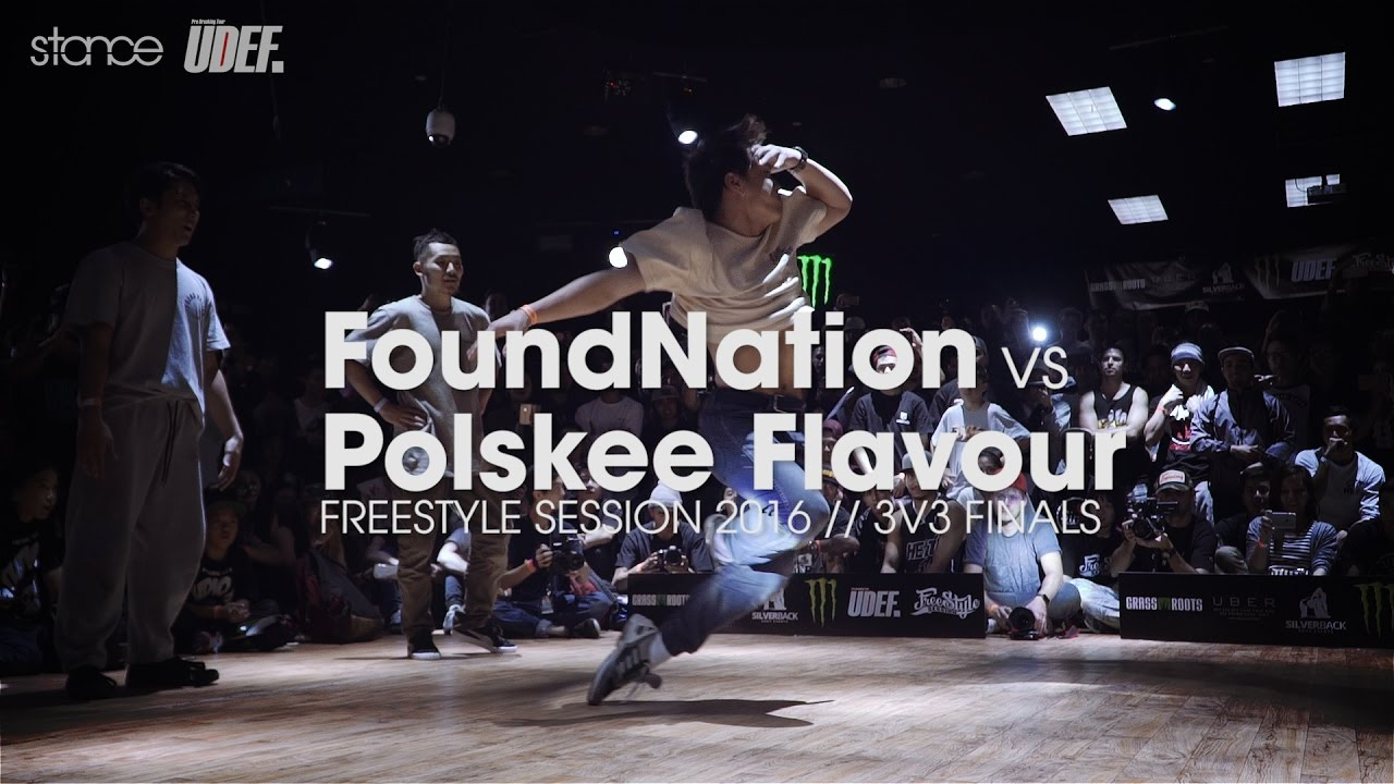 FoundNation vs Polskee Flavour [crew finals] // .stance // Freestyle Session 2016 x UDEFtour.org