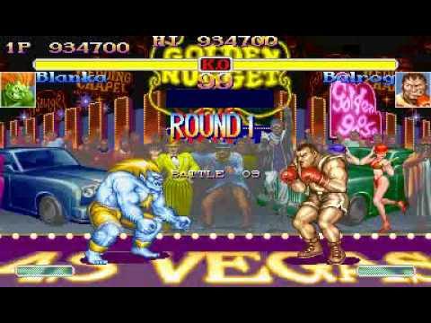 Hyper Street Fighter 2- Blanka TAS 2