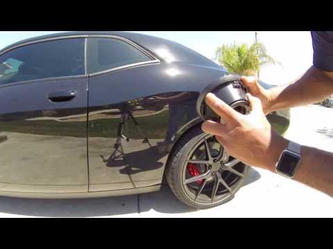 How to change fuel door on challenger 2015 and up