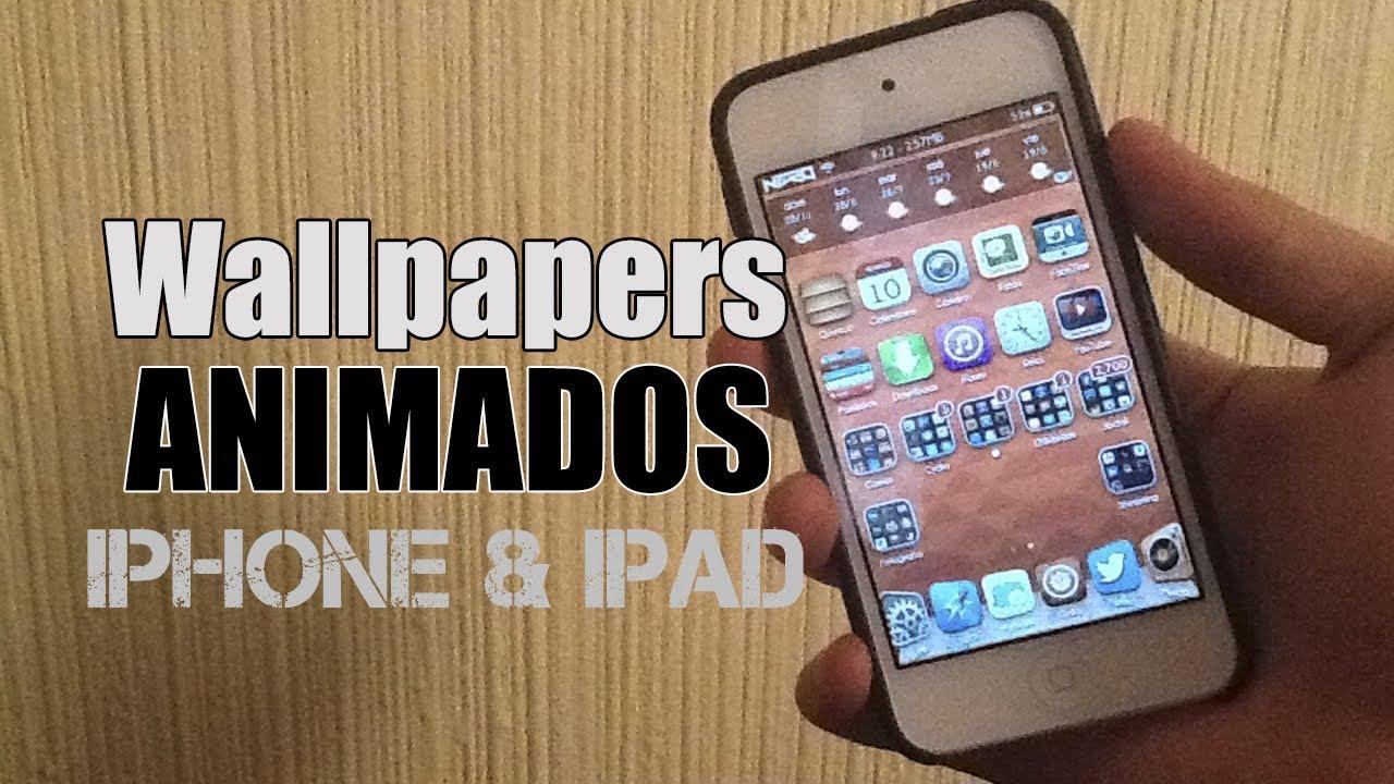 9b602d4fa6a WALLPAPERS ANIMADOS en tu iPhone 5, iPod 5 y iPad (TWEAK DE CYDIA) - YouTube
