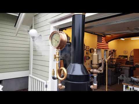 Live Steam Boiler Hand Pump Whistle Gauge steam engine