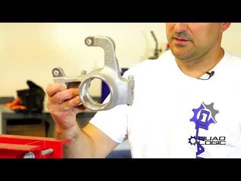 Polaris Sportsman and RZR Wheel Bearing Installation with Quad Logic Press Tool