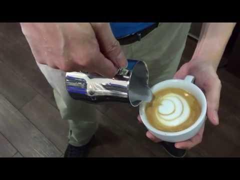 Latte Art with Motta Pitcher (Motta Europa Pitcher review)