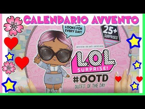 Calendario Dellavvento Lol Surprise Prezzo.Lol Surprise Calendario Dell Avvento Unboxing Segreto By