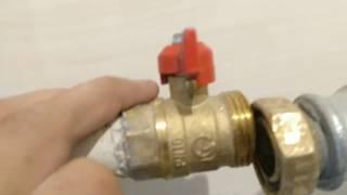 шаровый кран не перекрывает воду не держит способ ремонта