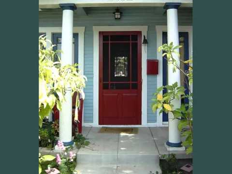 Screen Door For Front Door | Screen Door Collection - YouTube