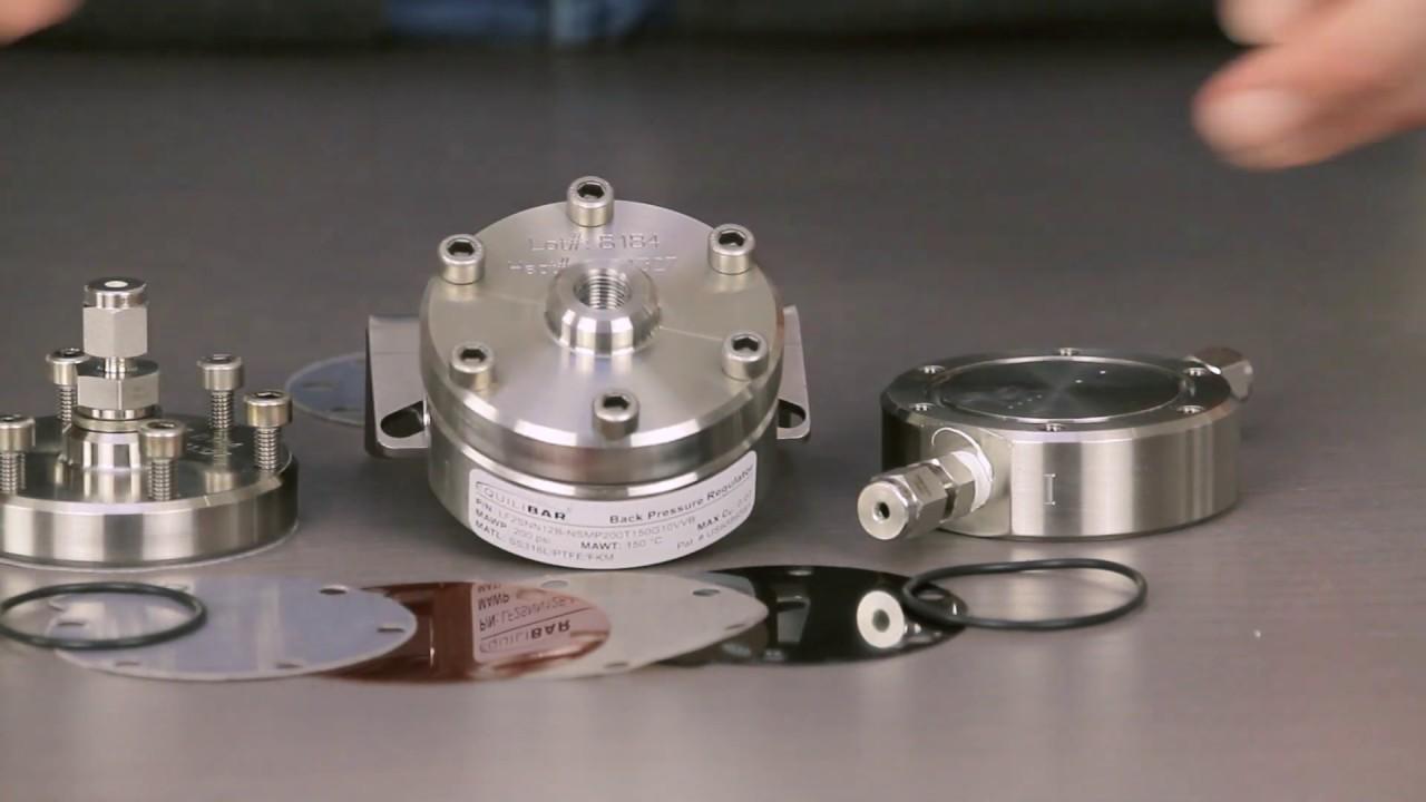 Equilibar® Research Series Back Pressure Regulators