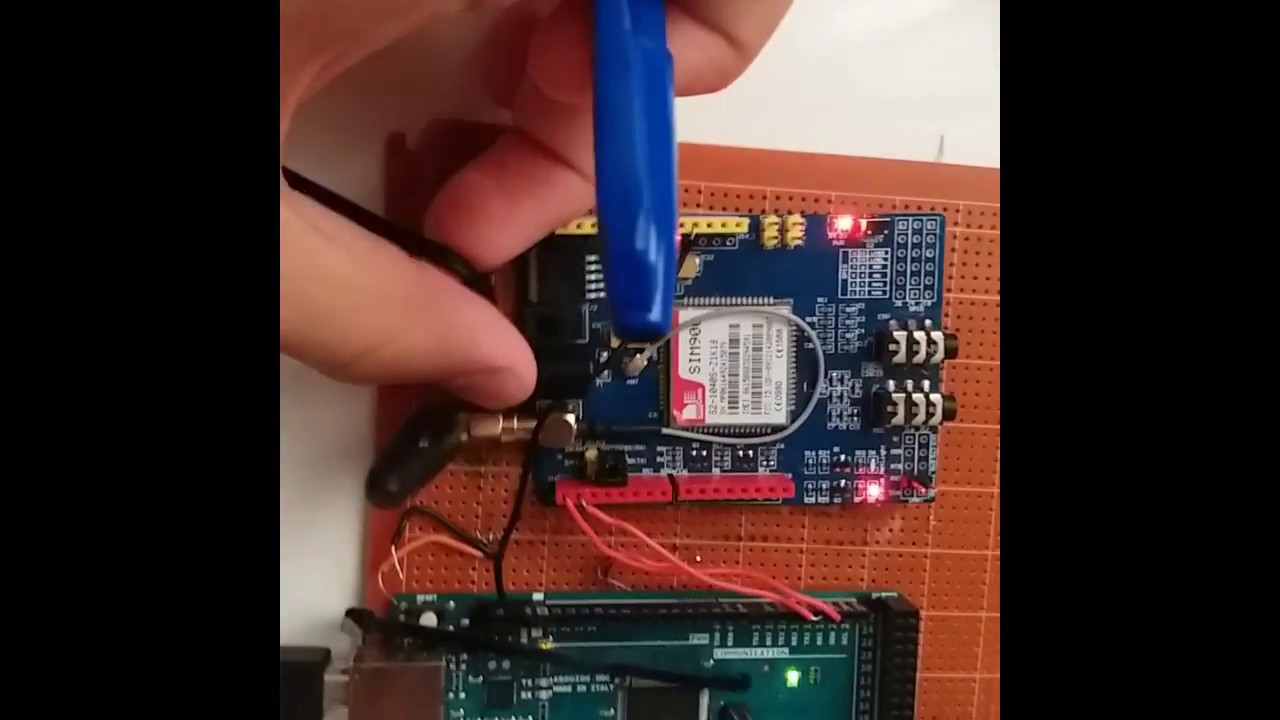||GSM Sim900 with Arduino MEGA || Connection, AT commands, Voice Call, SMS  send,