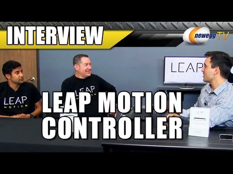 Leap Motion LM-010 Motion controller Interview - Newegg TV