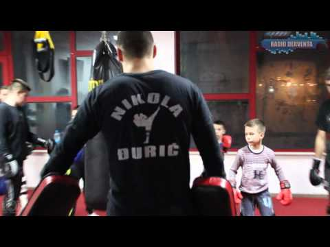 Kik-bokser Nikola Đurić Džoni - Intervju