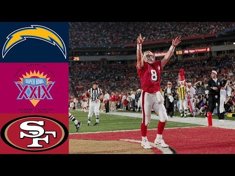 Chargers Vs 49ers Super Bowl XXIX (Full Game)