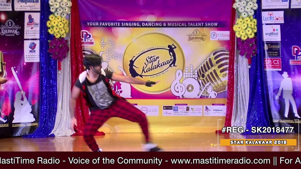 Registration NO - SK2018477 - Star Kalakaar 2018 Finals - Performance