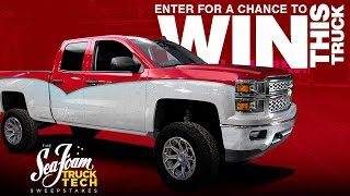 In The Market For A New Truck? Enter For A Chance To Win The Sea Foam Truck Built On Truck Tech!