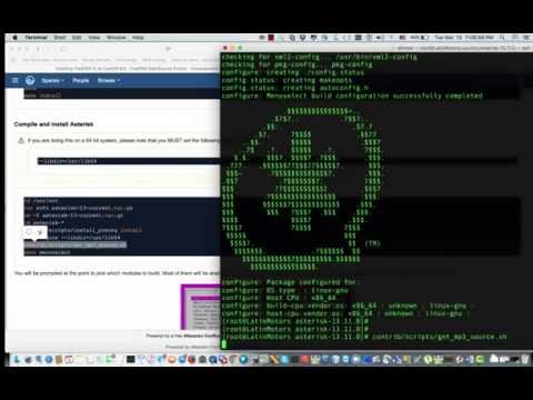 Step by step install  freepbx 12 on asterisk 13 centos 6 Part-2